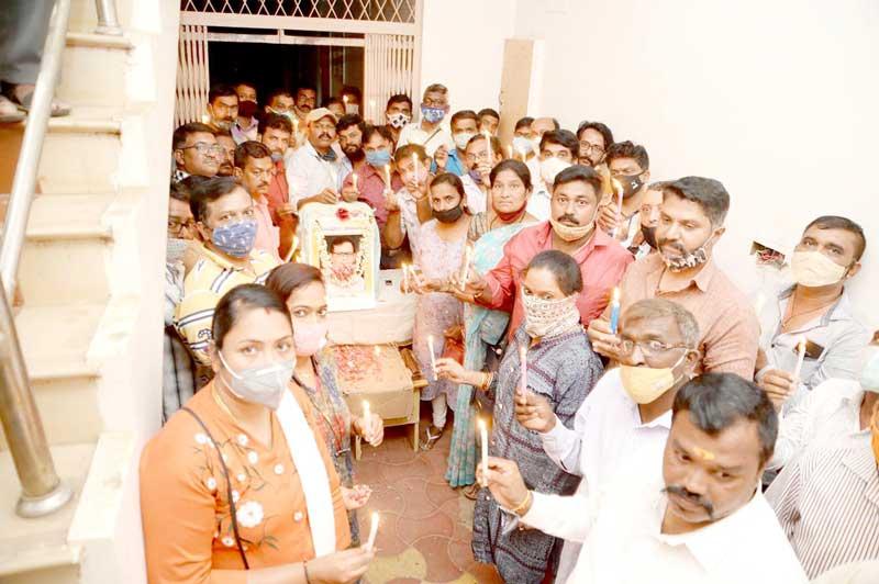 ಹಂಸ ಕಲರ್ ಲ್ಯಾಬ್ ಮಾಲೀಕ  ಹಂಸರಾಜ್ ಅವರಿಗೆ ಶ್ರದ್ಧಾಂಜಲಿ